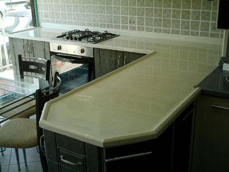 Mutfak Tezgahı Pah Kırma