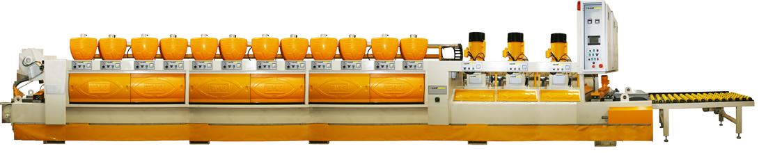 12+3 Otomatik Mermer Cila Makinesi