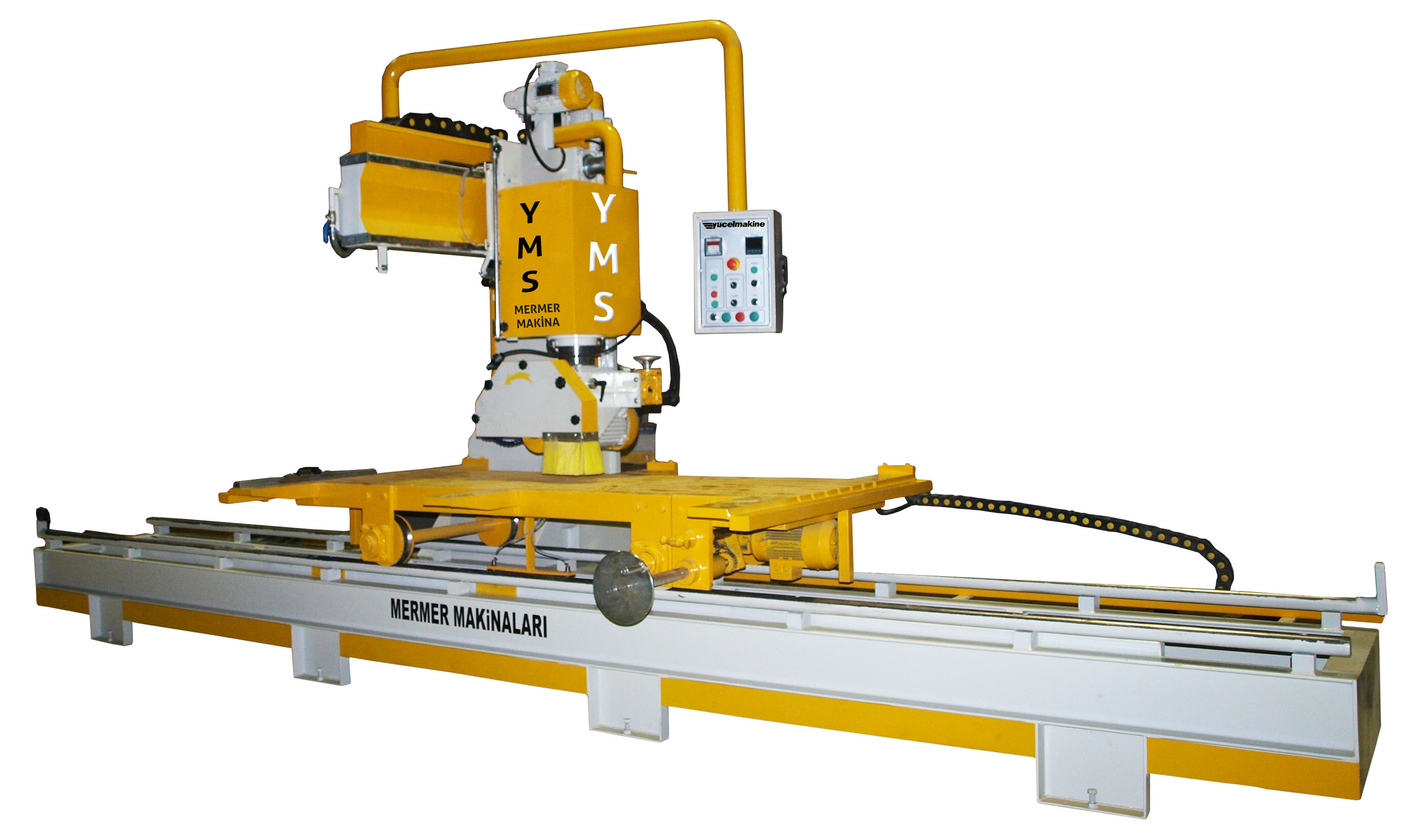 Yarı Otomatik Mermer Yan Kesme Makinesi